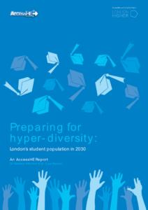 Preparing for hyper-diversity London's student population in 2030